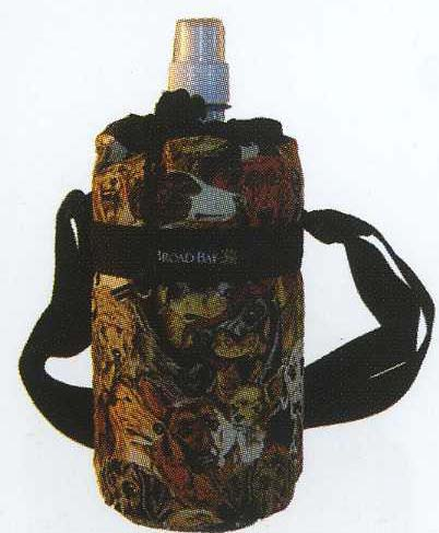 Our fully insulated water bottle carrier keeps your water cold all day.
