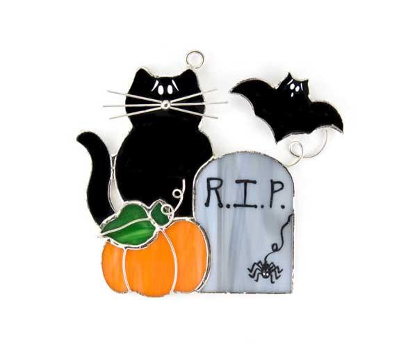 Halloween Cat Nightlight Cover
