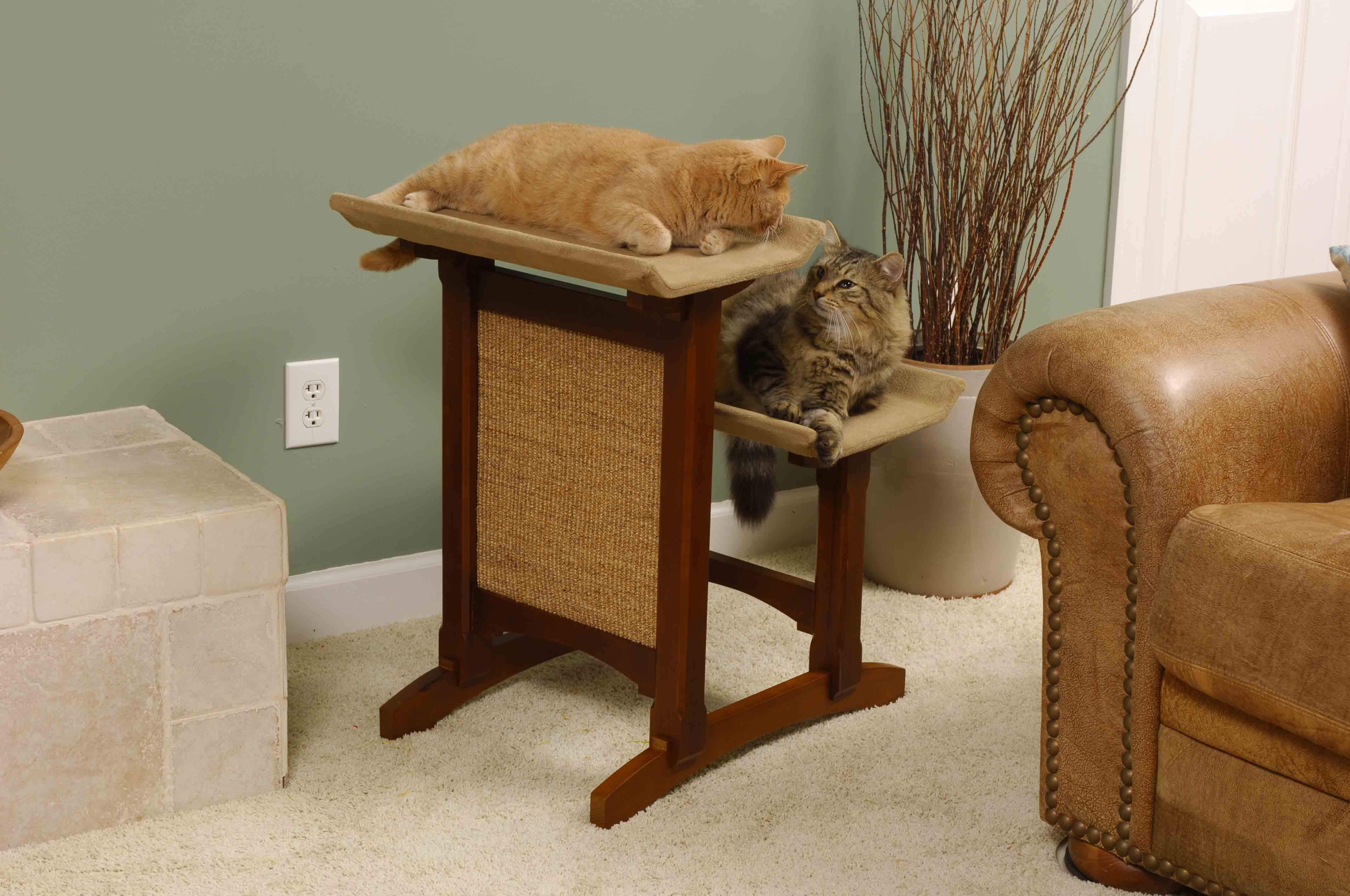 Ремонт квартиры с учётом кошек 36
