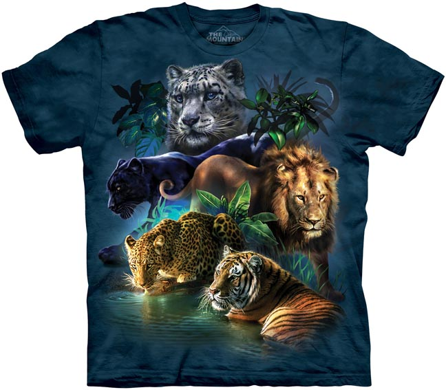 Cat fancy gifts cat t shirts animal t shirts from the for Animal tee shirts online