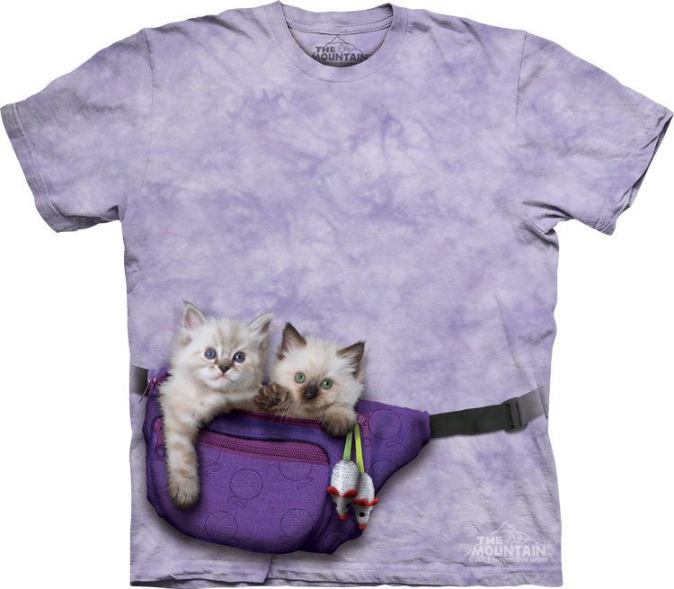c01f0a2283 The Mountain T-shirts - Tie Dyed Cat T-Shirts, Animal T-Shirts from ...